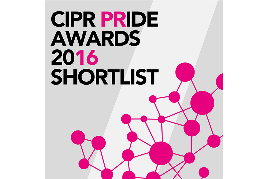 CIPR Pride Awards 2016 Shortlist
